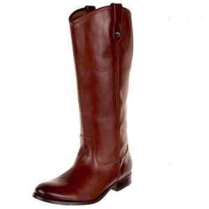 NWOT Frye Melissa Redwood Boot